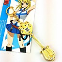 Buy Jewelry Inspired Fairy Tail Lucy Heartfilia Anime Cosplay Accessories Necklace Golden Alloy Male / Female