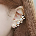 Buy Ear Cuffs Imitation Pearl Gold Plated Simulated Diamond Silver Golden Jewelry Wedding Party Daily Casual