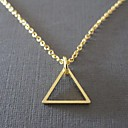 European Geometric Triangle Necklace