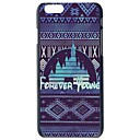 Buy Doopootoo™ Fashion Forever Young Pattern Slim Plastic Back Hard Case Cover iPhone 6 Plus 5.5 inch