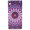 Buy Sony Case / Xperia Z3 Pattern Back Cover Flower Soft TPU Compact E4