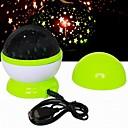 colorido jugador fshion cielo estrellado girando música proyección de luces LED (color al azar)