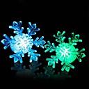 coloré forme de flocon de neige de changement de couleur Night Light LED