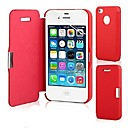 PU Leather Case & Touch Pen for iPhone 5/5S (Assorted Colors)