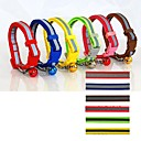 Reflective Nylon Fashion Collar for Cats and Puppy(Red,Blue,Brown,Pink,Green,Yellow)