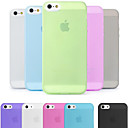 DSB® Premium Matte Surface PC Ultra Thin 0.02 inch/0.5 mm Hard Case for iPhone 5/5S (Assorted Colors)