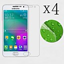 [4-Pack] High Transparency LCD Crystal Clear Screen Protector with Cleaning Cloth for Samsung galaxy A5