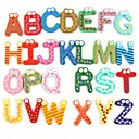 3D Wall Stickers ,The English Alphabet  Fridge Magnets  Wall Sticker