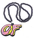 Buy Europe United States Popular Punk Geometric Squares Street Dance Acrylic Pendant Necklaces 1pc