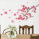 Chinese Style Plum Blossom PVC Wall Sticker