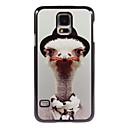 Ostrich Design Aluminium Hard Case for Samsung Galaxy S5 Mini