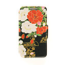Kinston® Red and White Flowers Diamond Paste Pattern PU Leather Full Body Case with Stand for Sony Xperia Z3