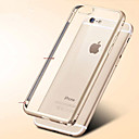 Transparente - iPhone 6 - Capa traseira ( Preto/Dourado/Prateado , Metal )