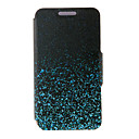 Kinston® Night Glowing Sparkle Pattern Full Body PU Cover with Stand for Sony Xperia Z1/Z1 Mini/Z3/Z4/M2/M4