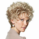 Buy Beautiful Blonde Fashion Style Short Curly Hair Wig