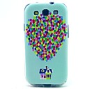 Balloon House Pattern TPU Soft Case for S3 I9300
