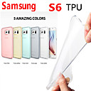 Through Color TPU Case for Samsung Galaxy S6