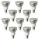 10 Stück LOHAS Spot Lampen E14 6 W 530-580 LM 2800-3200K K 4 High Power LED Warmes Weiß AC 100-240 V