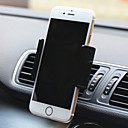 salida de aire del coche montaje cuna ajustable de montaje de montaje soporte para teléfono titular