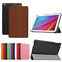 Buy 9.6 Inch Triple Folding Pattern PU Leather Case Huawei MediaPad T1 10(Assorted Colors)