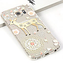 Buy Fashion 3D Flower&Deer TPU Cartoon Soft Case Samsung Galaxy S6 G900