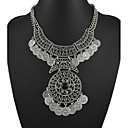 Buy Tribal statement necklace Ethnic jewelry gypsy coin Vintage