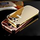 Buy DUBAI® Luxury Super Thin Shine Acrylic Mirror Cover Back Plating Metal Frame Full Body Case Samsung Galaxy S3/I9300