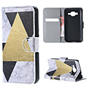 Triangle Solid Lamb Sticks Cards Support Purse Money Case for Samsung GALAXY CORE Prime G360