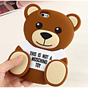 Silicone Cute Bear Design for iPhone 6s 6 Plus