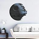 3D Star Wars Death Star PVC Wall Sticker Wall Decals