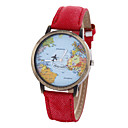 Buy Unisex Watch Women's Map Strap Movement Cool Watches Unique Fashion
