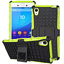 Mix Color TPU&PC Heavy Duty Armor Stand Case for Sony Xperia M4 Aqua(Assorted Colors)
