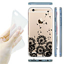 MAYCARI® Flying Dandelions Transparent Soft TPU Back Case for iPhone 6/6S