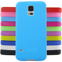 Solid Color Jelly Silicone Case Design Pattern For Samsung Galaxy S4 Mini I9190 (Assorted Colors)