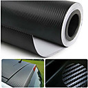 Glasswetis® SimCarbon 3D Carbon Fiber Vinyl Film Wrap BLACK 12