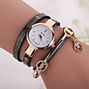 Buy Fashion Casual Long Leather Strap watches Women Popular Jewelry Ethnic Style Surround Wrist Quartz Watch Clock 4 Colors Cool Watches Unique