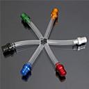 Buy Dirt Pit Bike Fuel Gas Cap Petrol Tank Vent Valve Breather Hose (random color)