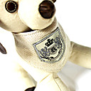 犬用品/猫用品 用- 本革/織物 - カラー - ベージュ