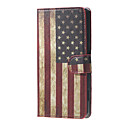 Buy Retro American Flag Magnetic PU Leather wallet Flip Stand Cover Case Huawei Ascend Y5/y560