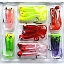 Buy Soft Bait Lead Head Hook Lure 6.7Games/5Grams Combination Set Fishing Tackle