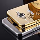 삼성 갤럭시 J5에 대한 금속 알루미늄 합금 프레임 거울 아크릴 플라스틱 백 커버 케이스를 블링 / J7 / E7 / i9060 / G530 / g7106