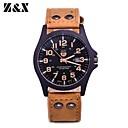 Buy Men's Fashion Quartz Analog Leather Bracelet Watch(Assorted Colors) Cool Watch Unique