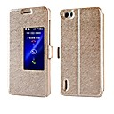 Buy Silk Texture PU Leather Cover Huawei Honor 6 (Assorted Colors)