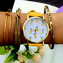 Tropical Fruit Pineapple Watch, Vintage Style Leather Watch, Women Watches, Boyfriend Watch