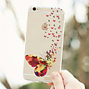 MAYCARI® Velley of Butterflies Transparent Soft TPU Back Case for iPhone 6/6S