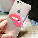 Buy Lips Pattern TPU Transparent Soft Shell Phone Case Back Cover iPhone6/6S