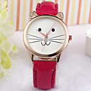 Buy Cat Face Watch, Fashion Kitty Lovers Love Cats, Jewelry, Gift Cool Watches Unique