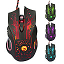 Professional High Quality Wired Gaming Mouse 7 Button LED Optical USB Wired Computer Mouse Mice Cable Mouse
