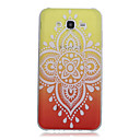Buy Red Yellow Pattern Transparent TPU Material Printing Phone Case Samsung Galaxy J1 Ace/J2/On5/On7