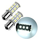 * 1156 ampoule 2 BA15s voiture de queue parking d'arrêt frein de sauvegarde 5050SMD blanc 18 LED Light 12v